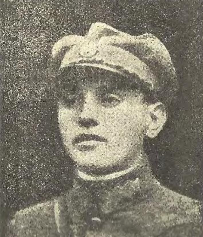 Степан Лисак в однострої підхорунжого УГА. 1920 рік.
